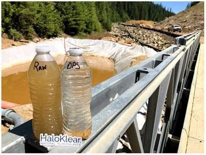Chitosan water treatment